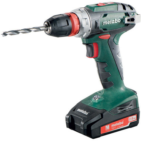 Metabo BS 18 Quick Borskrutrekker med 10 mm chuck