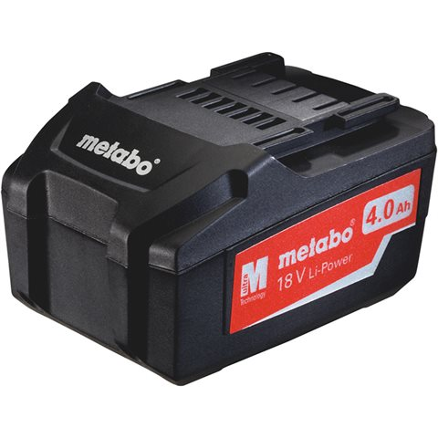 Metabo 18V 4,0Ah Li-Power Batteri