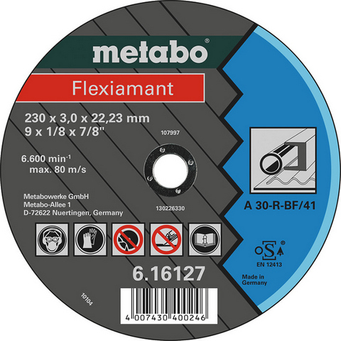 Metabo 616127000 Kapskiva 230x22,23 mm