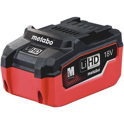Metabo 18V LiHD Batteri 5,5Ah