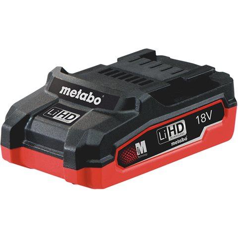 Metabo 18V LiHD Batteri 3,1Ah