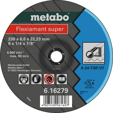 Metabo Flexiamant Super Kapskiva 125x22,23 mm