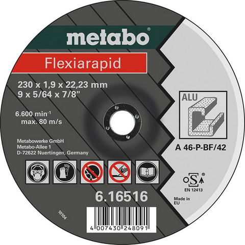 Metabo Flexiarapid Kappskive for aluminium