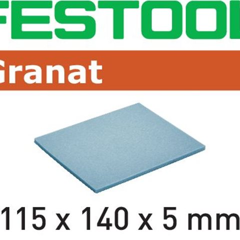 Festool MD 280 GR Slipsvamp 115x140x5mm, 20-pack