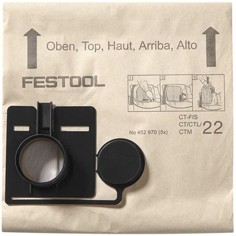 Festool FIS-CT 33 Filtersäck 5-pack