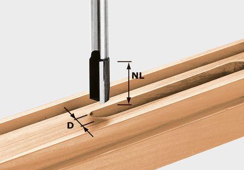 Festool HW S12 D10/35 Notfräs 12mm spindel