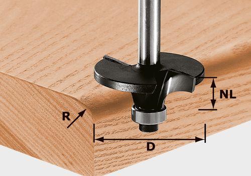 Festool HW S8 D42/R6 Profilfräs 12mm spindel