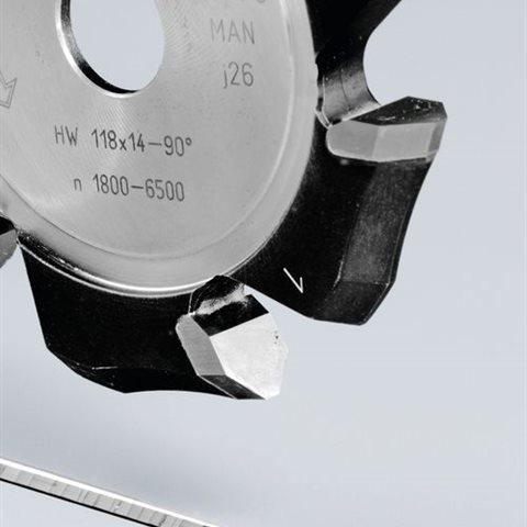 Festool HW 118x14-90° V-notfräs aluminium