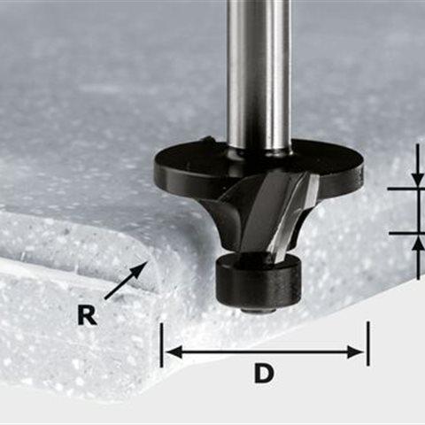 Festool HW R3/D22 ss S12 Avrundningsfräs 12mm skaft