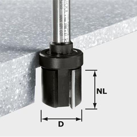 Festool HW D28/25 ss S12 Kantfräs 12mm spindel