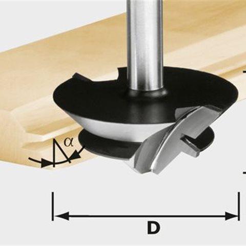 Festool HW D 64/27 S12 Limfogfräs 12mm spindel