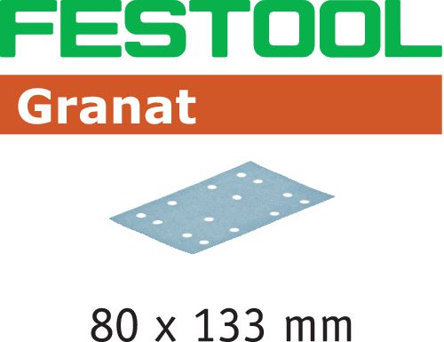Festool STF GR Slippapper 80x133mm 100-pack P180
