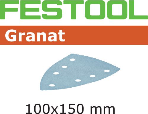 Festool STF GR DELTA Slippapper 7-hålat 100-pack P240
