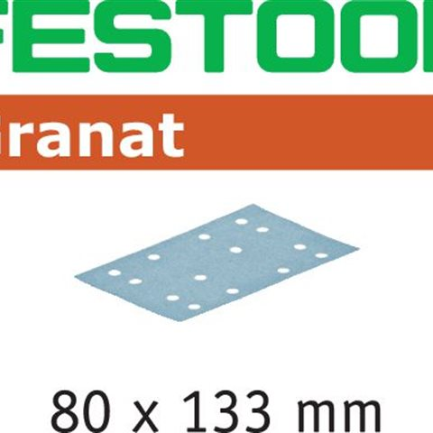 Festool STF P280 GR Slippapper 80x133mm, 100-pack