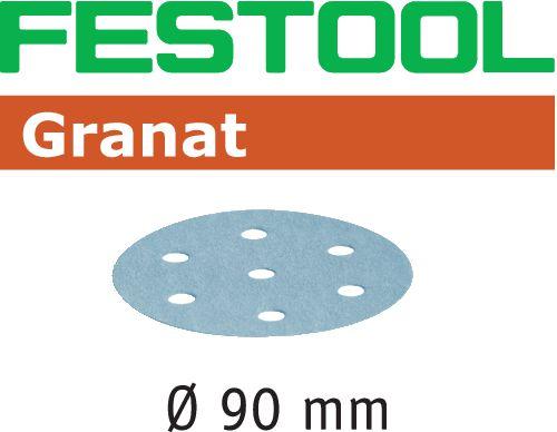 Festool STF GR Slippapper 90mm 6-hålat 100-pack P180