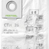 Festool FIS-CTH 26/3 Säkerhetsfiltersäck