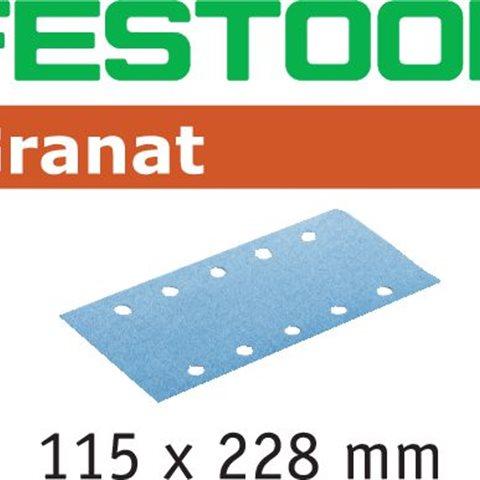 Festool STF P100 GR Slippapper 115x228mm, 100-pack