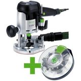 Festool OF 1010 EBQ-Plus + Box-OF-S 8/10x HW Handöverfräs