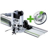 Festool OF 1010 EBQ-Set + Box-OF-S 8/10x HW Handöverfräs