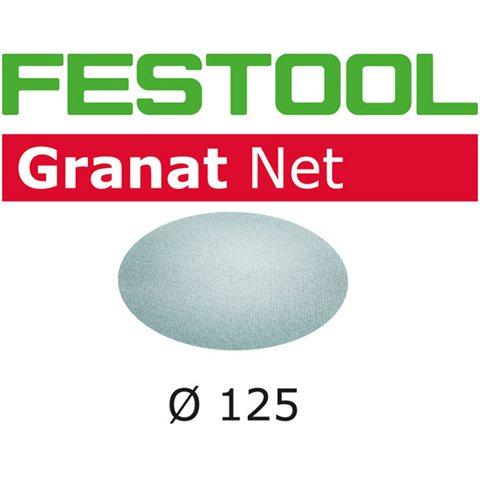 Festool STF D125 GR NET-serien Nettmønstret slipepapir