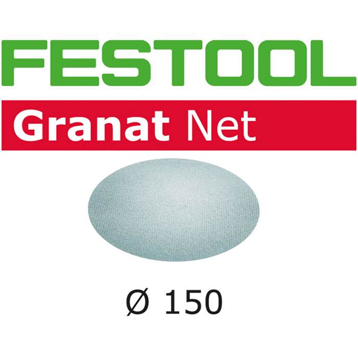 Festool STF D150 GR NET Nätslippapper 150mm 50-pack P400