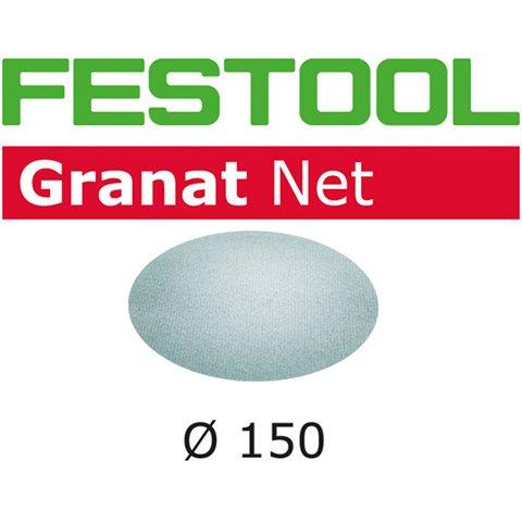 Festool STF D150 GR NET-serien Nettmønstret slipepapir