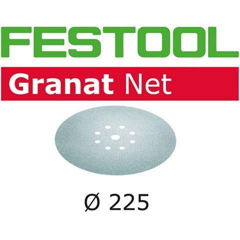 Festool STF D225 GR NET-serien Nettmønstret slipepapir