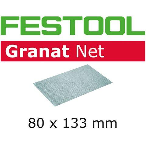 Festool STF 80x133mm GR NET-serien Nettmønstret slipepapir