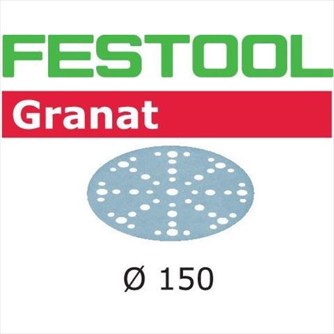 Festool STF GR Slippapper 150mm 48-hålat 100-pack P280 P280