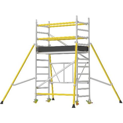 Wibe FT 750XR Hantverksställning med räcken 18 meter