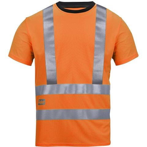 Snickers 2543-serien T-skjorte med høy synlighet oransje