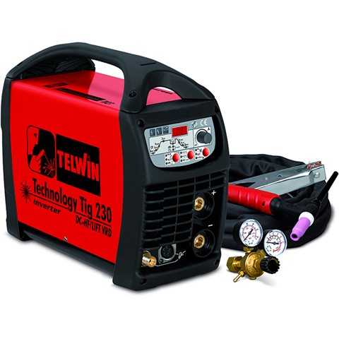 00a7f178bb2b Telwin Technology Tig 230 DC/HF/LIFT Svetsmaskin