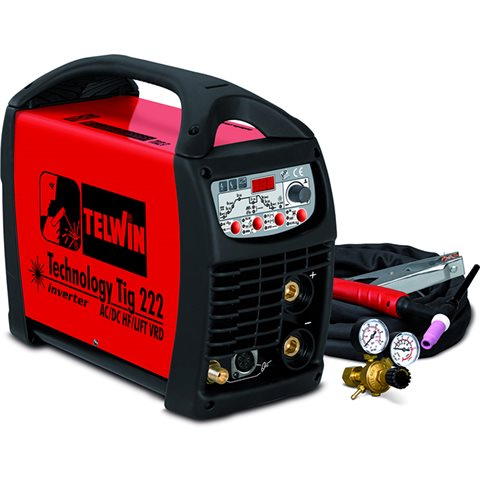Telwin Technology Tig 222 AC/DC-HF/LIFT VRD Sveisemaskin