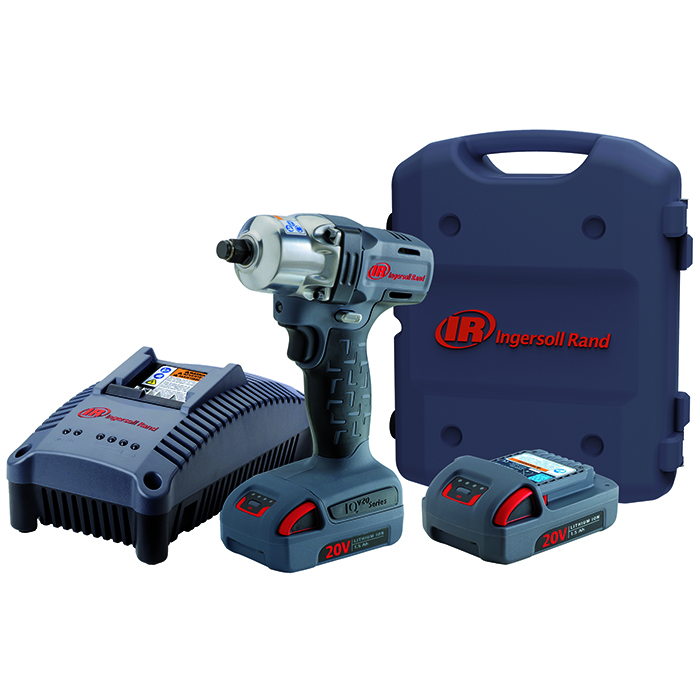 Ingersoll Rand W5130EU-K2 Mutterdragare med 15Ah batterier och laddare