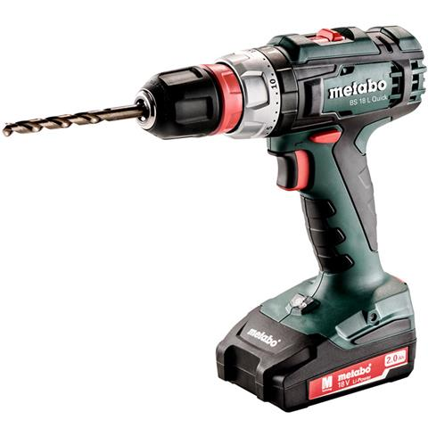 Metabo BS 18 L Quick Borrskruvdragare med 13mm chuck