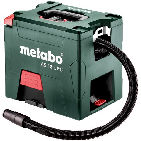 Metabo AS 18 L PC Dammsugare utan batterier och laddare