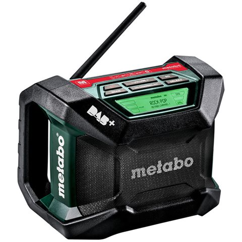 Metabo R 12-18 DAB+ BT Radio uten batteri og lader