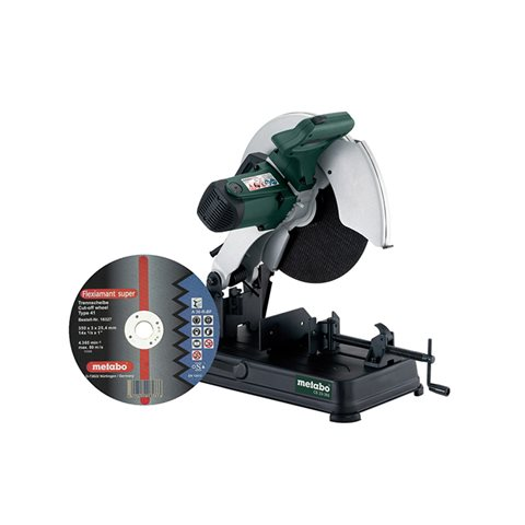 Metabo CS 23-355 Set Metallkapsåg med kapskiva flexiamant super