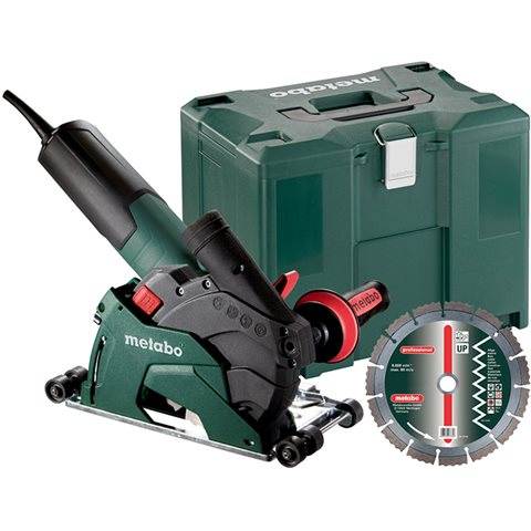 Metabo W 12-125 HD Set CED Plus Vinkelslip med diamantkapskiva UP