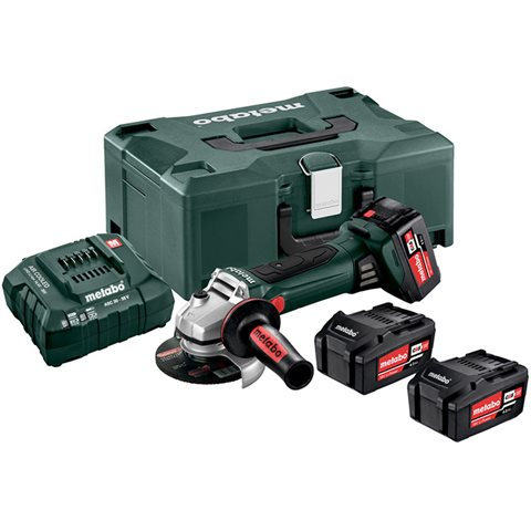 Metabo W 18 LTX 125 Quick Set Vinkelslip