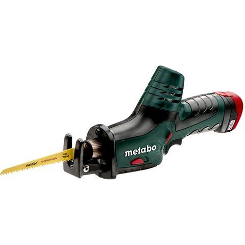 Metabo POWERMAXX ASE Tigersåg med 2,0Ah batterier och laddare