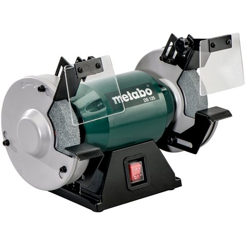Metabo DS 125 Bänkslipmaskin kompatibel med 125 mm slipskivor