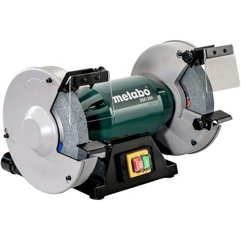 Metabo DSD 200 Bänkslipmaskin kompatibel med 200 mm slipskivor, 750 W