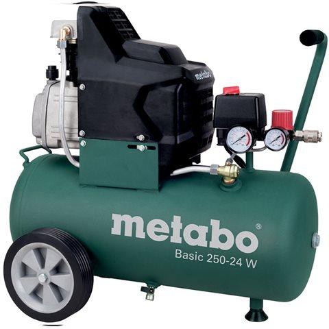 Metabo Basic 250-24 W Kompressor med påfyllnadskapacitet 110 l/min