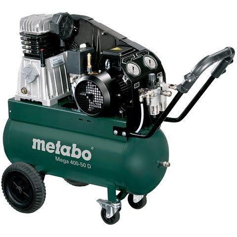 Metabo Mega 400-50 D Kompressor 50 liter
