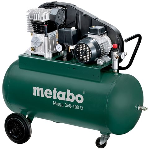 Metabo Mega 350-100 D Kompressor 90 liter