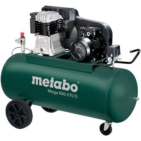 Metabo Mega 650-270 D Kompressor 270 liter