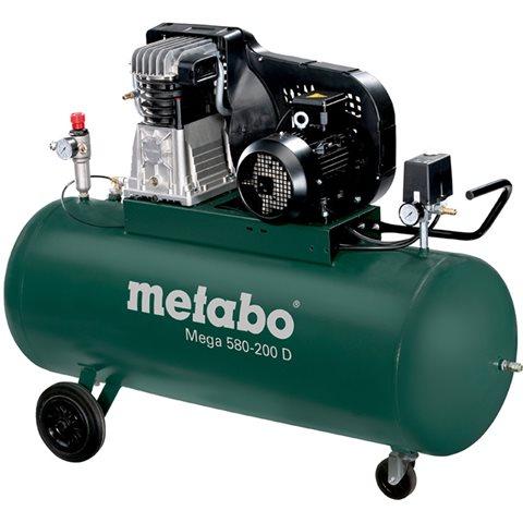 Metabo Mega 580-200 D Kompressor 200 liter
