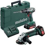 Metabo BS 18 + W 18 LTX 125 QUICK Verktygspaket
