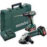 Metabo SB 18 + W 18 LTX 125 QUICK Verktygspaket